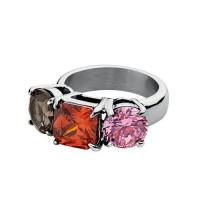 Charis ring i stål fra Dyrberg/Kern