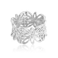 Blossom ring i sølv fra Izabel Camille