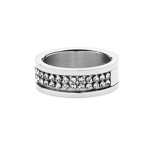 Fratianne ring i stål fra Dyrberg/Kern