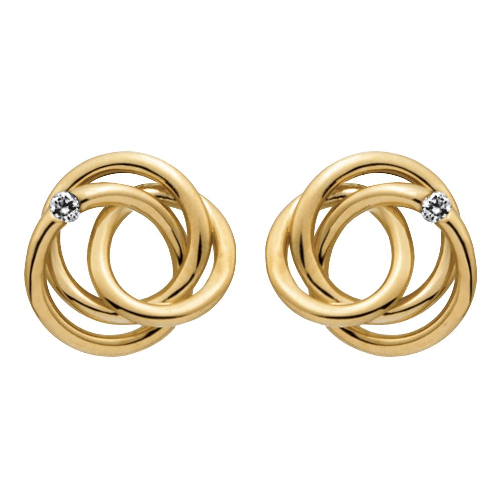 øreringe i guld