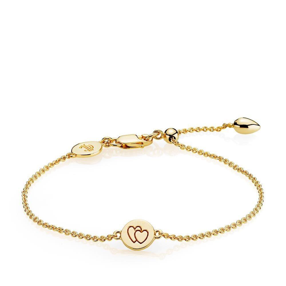 e804c63ac71 Beautiful Together armbånd i guld fra Izabel Camille.