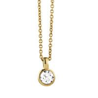 Ette guld halskæde fra Dyrberg/Kern