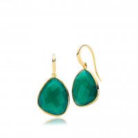 Orient øreringe i guld fra Izabel Camille.