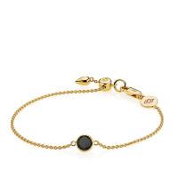 Prima Donna armbånd i guld med en onyx fra Izabel Camille