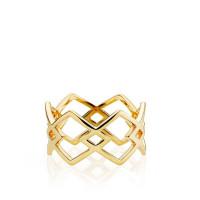 DNA ring i guld fra Izabel Camille-
