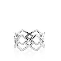 DNA ring i sølv fra Izabel Camille