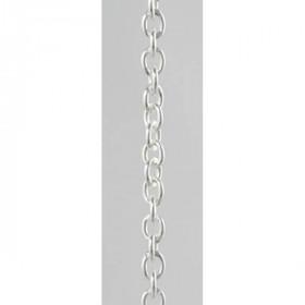 Rund ankerkæde i sterling sølv fra Lund Copenhagen