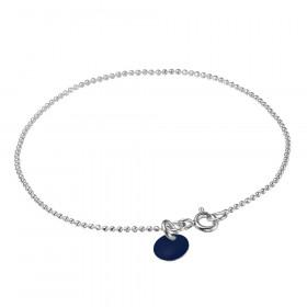 Ball Chain armbånd i sølv fra Enamel