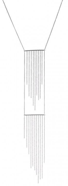 Lash halskæde i sølv oxideret fra Von Lotzbeck