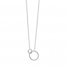 Double Cirkle armbånd i sølv fra Enamel