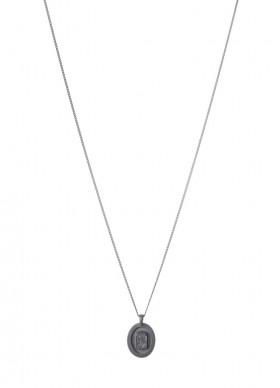Noble halskæde i sort sølv fra Von Lotzbeck