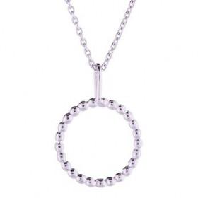 Halskæde I Rhodineret Sølv Fra Nordahl Jewelry