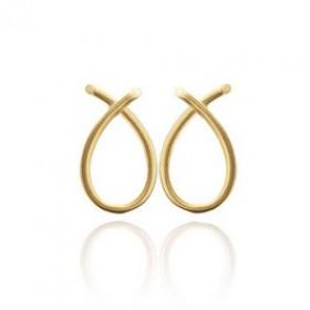 Everyday small øreringe i guld fra Izabel Camille
