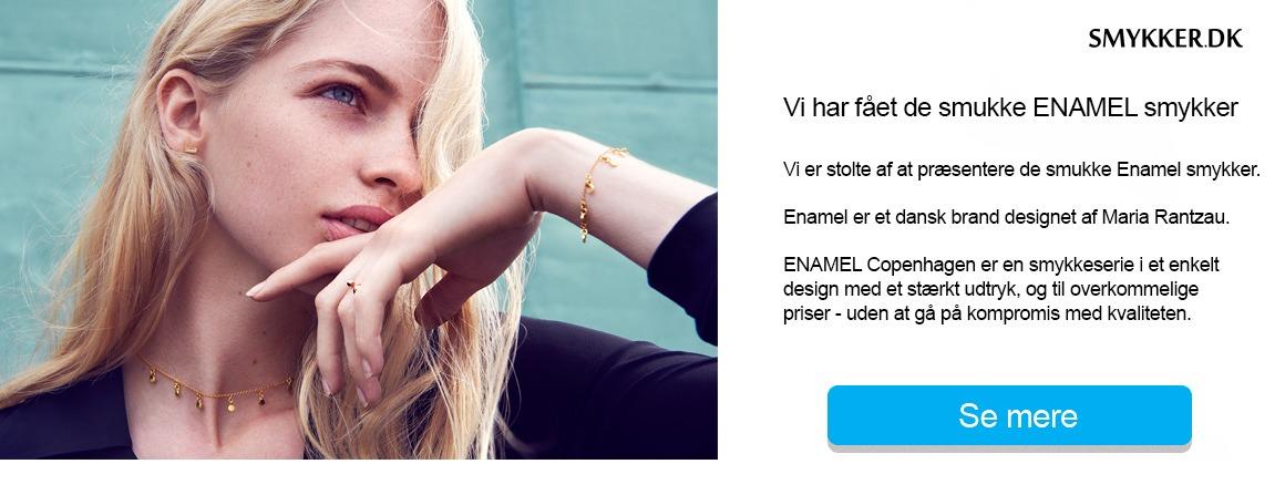 ENAMEL på Smykker.dk